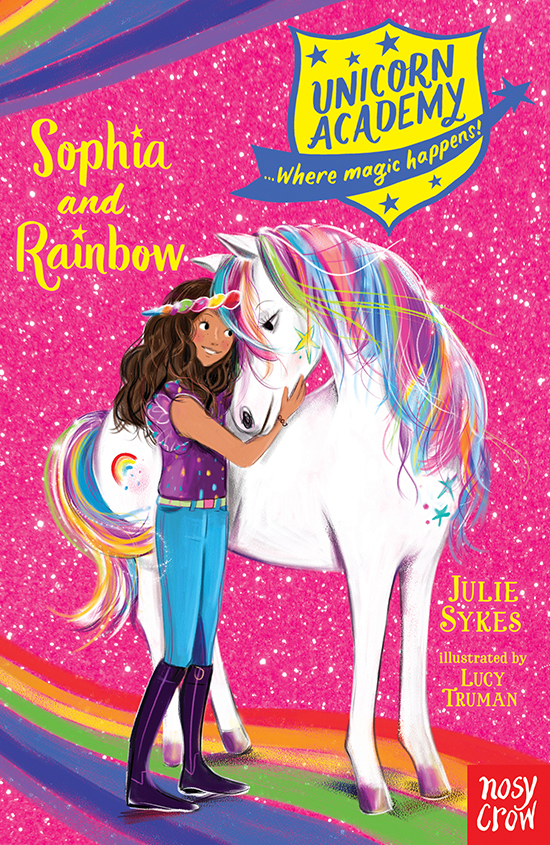 cover - Unicorn Academy: Sophia and Rainbow